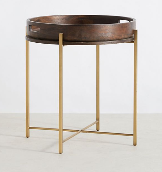 Anthropologie Ancona Tray Table