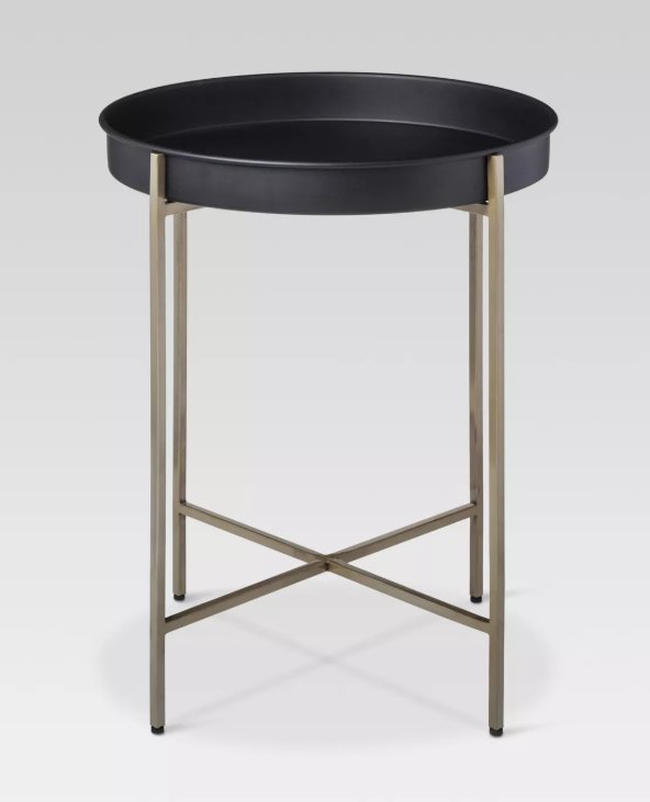 Brass Tray Accent Table - Threshold