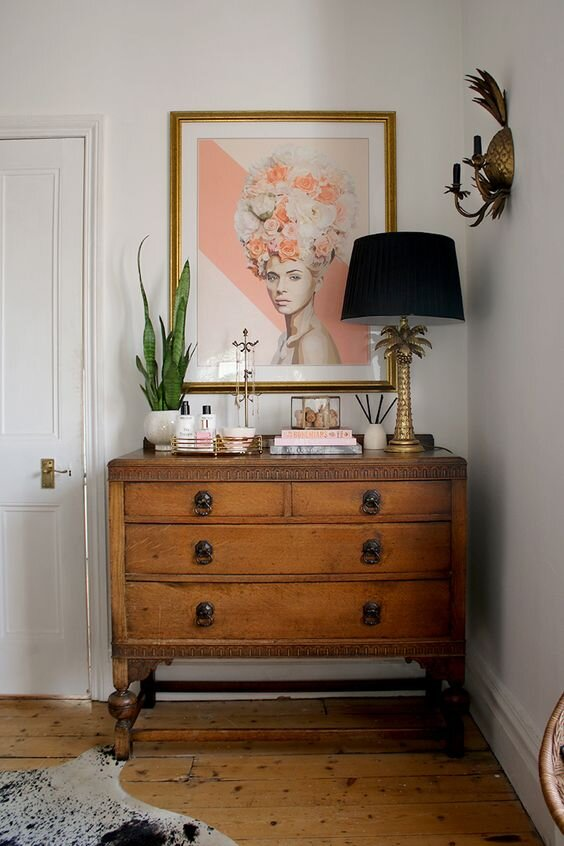 How To Style A Dresser Delaney Lane
