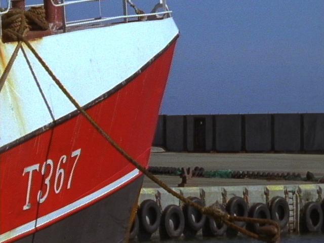Postcard #1: North Sea Harbor