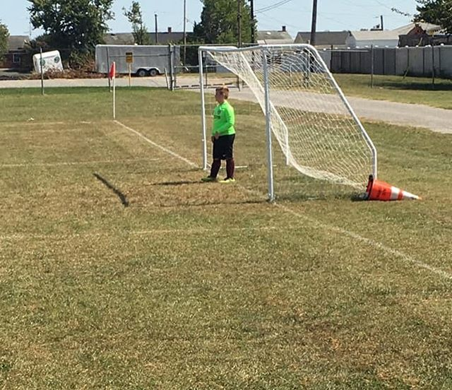 This week's SJAA Photo of the Week is of 3rd grader Joe Pistorio. Joe was in goal this past Saturday and saved his first penalty kick! Way to go Joe!⚽️🐺🐾👍🏼 #wolfpackstrong