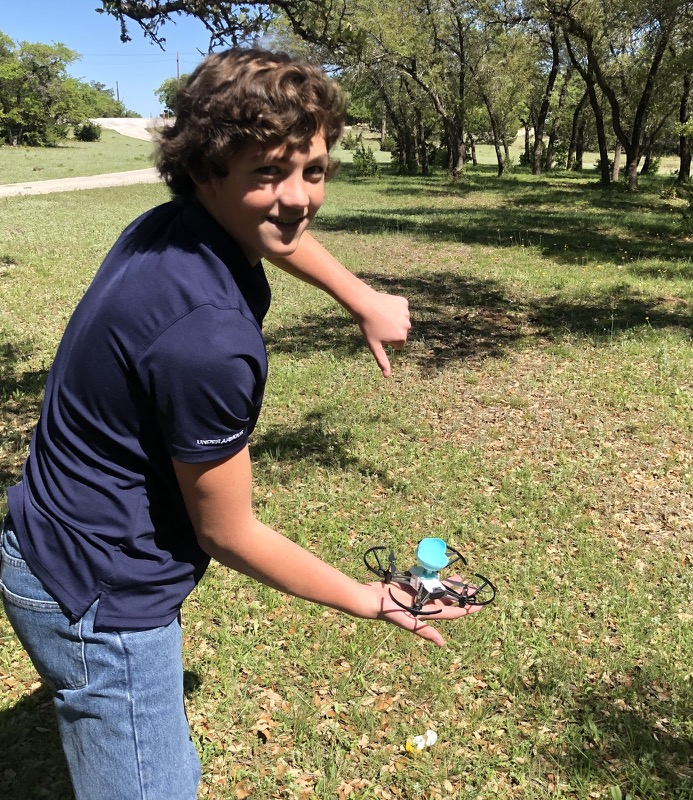 Can Tello Flip and Drop An Egg? - It certainly can fly holding an egg with a fully-powered battery, but does not have enough power to flip holding a real egg.