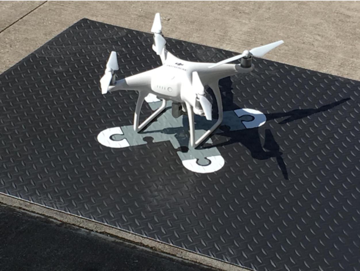 DroneBlocks takeoff pad