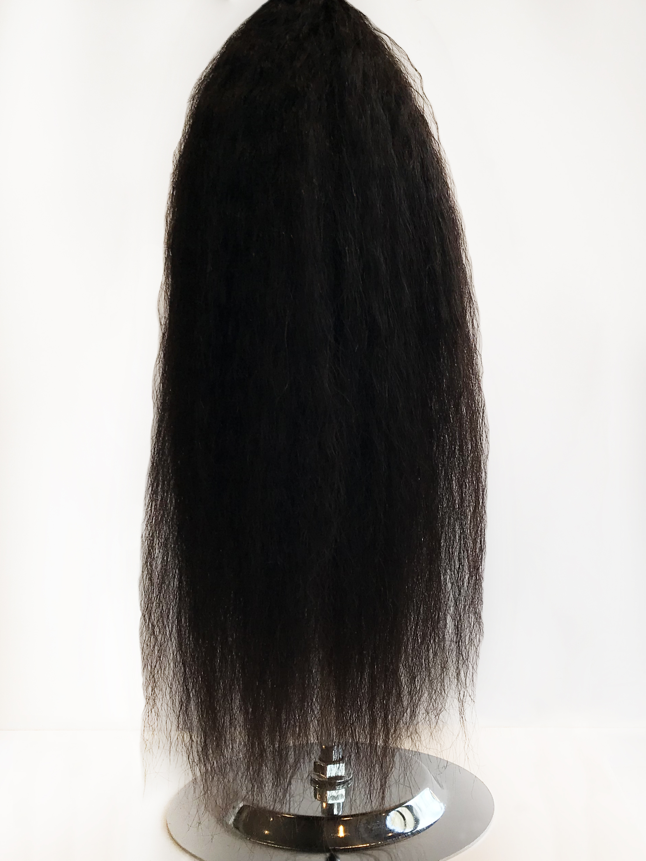 What would blend more flawless with your natural hair straightened or your relaxed texture - than beautifully smooth hair? It will give you shine, movement and the versatility to keep it straight for all occasions.