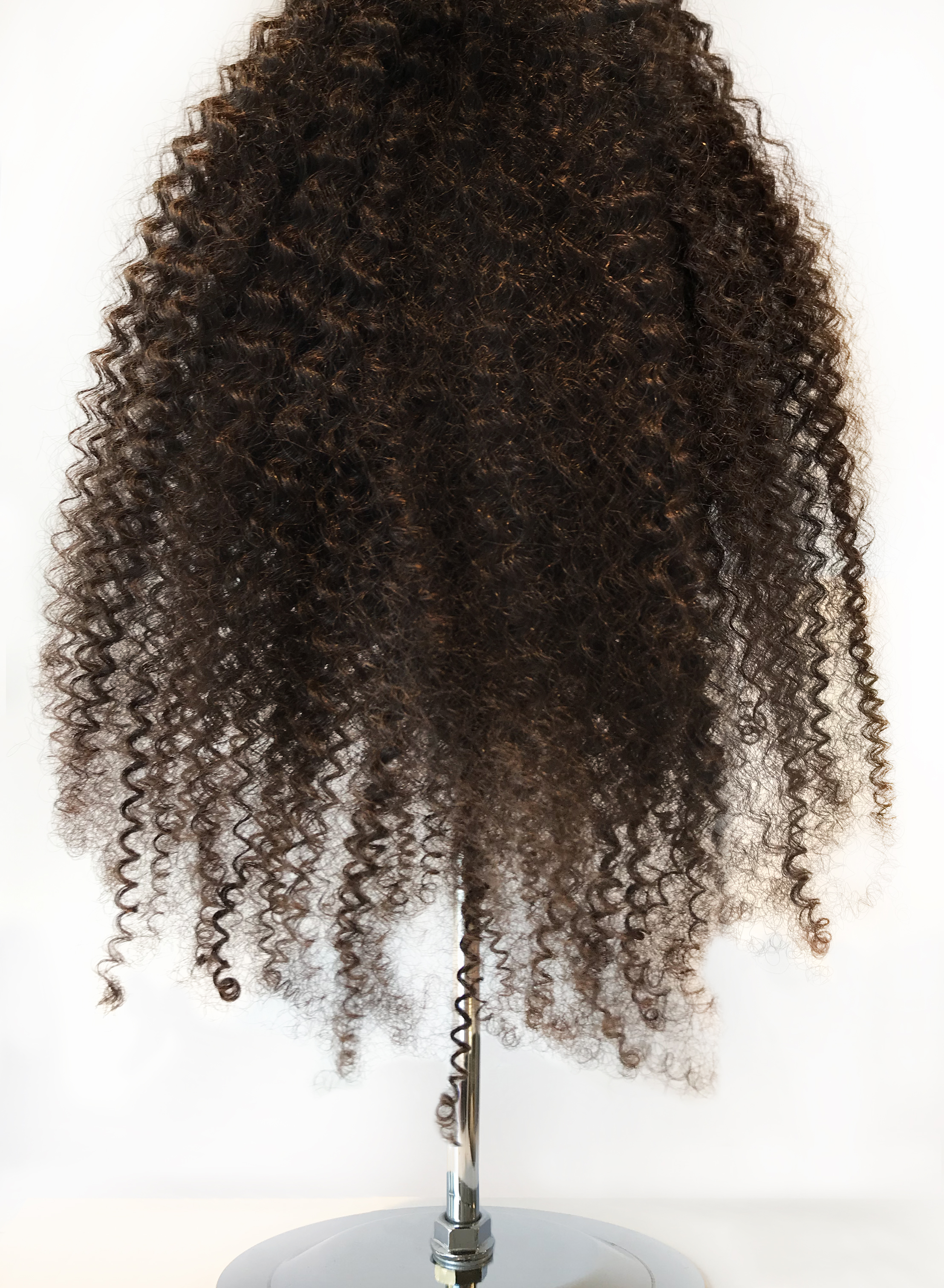 This is our coolest and tightest curl yet is the match made in heaven for the natural who needs a protective style or anyone who wants to try something new. With great care comes great hair so follow the steps below to maintain the shine, fullness and coil of this amazing hair!
