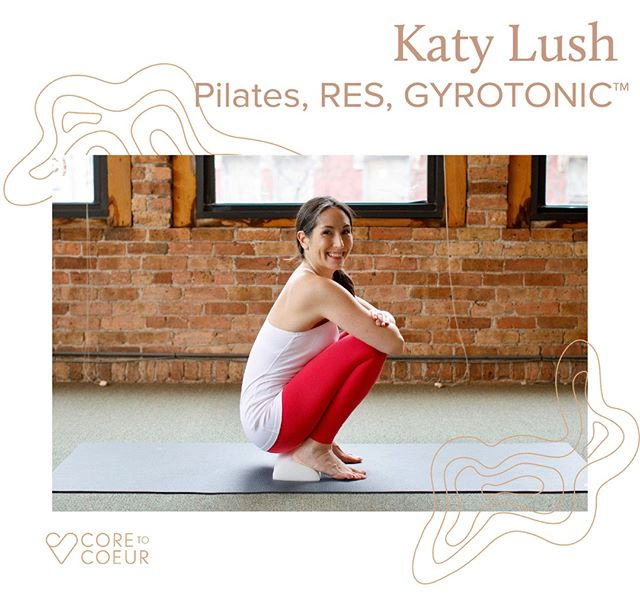 Our next Founding 15 Instructor on #coretocoeur! Introducing Katy Lush @thekatylush. Get notified of our launch to see Katy's live online #pilates #restorativeexercise + GYROTONIC class schedule (link in bio).⠀⠀⠀⠀⠀⠀⠀⠀⠀ •⠀⠀⠀⠀⠀⠀⠀⠀⠀ •⠀⠀⠀⠀⠀⠀⠀⠀⠀ •⠀⠀⠀⠀⠀⠀⠀⠀⠀ Katy Lush, owner of Chicago River North Pilates is a #Pilates Educator, GYROTONIC® Pre-Trainer, Restorative Exercise Specialist and Certified Movement Analyst and has her BFA in Ballet.  Having taught movement for over 20 years, Katy's expertise is with the aging population, clients with traumatic injuries, post-cancer treatment, and training Pilates and GYROTONIC® instructors.  Katy's unique and intuitive methods of teaching, combined with an unwavering focus on well-being, have given her clients a decidedly fresh, holistic and balanced approach to mind-body health.⠀⠀⠀⠀⠀⠀⠀⠀⠀ •⠀⠀⠀⠀⠀⠀⠀⠀⠀ •⠀⠀⠀⠀⠀⠀⠀⠀⠀ •⠀⠀⠀⠀⠀⠀⠀⠀⠀ Welcome to TeamC2C @thekatylush 💪🏼💪🏽💪🏾. #movementmatters #movementmovement  #pilatesbusiness #womenrun #womenran  #movementinspo #personaltrainer #startup #startupbusiness #femtech #fittech #personaltraininginspo #nutritiousmovement #katybowmaninspired #onlinepilates #fempreneur #pilatesbody #everybodypilates #pilates #matpilates #yoga #onlineyoga #yogisofinstagram #matyoga #michellecjohnson #yogi
