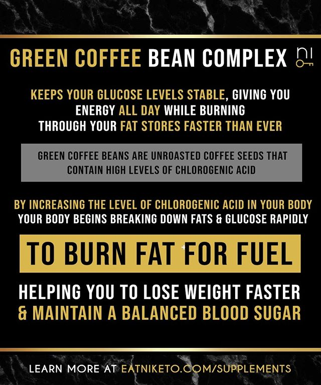 Do you know the benefits of green coffee bean complex for weight loss? 🤔 Learn more at eatniketo.com!