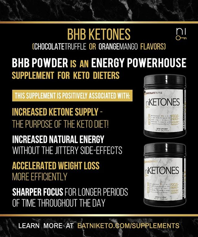 Are you taking your BHB #ketones? Try @niketoned Ketones supplements! They come in two delicious flavors, Chocolate truffle & Orange/Mango. Learn about the benefits and order yours today by clicking link in bio! . . . . #keto #ketones #bhb #ketoforbeginners #ketodiet #ketolife #ketosis #supplements #ketosupplements #ketola #ketolifestyle #ketotransformation #ketobeforeandafter #fit #fitfam #fitlife #fitnessforlife #workout #instafit #instaketo #ketoweightloss #ketoadapted #ketobeginner #ketofriendly