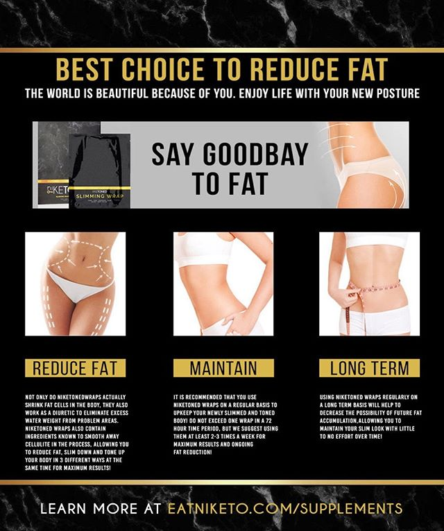 Say goodbye to fat with @niketoned Slimming Body Wraps!! Their body wraps have ingredients known to smooth away cellulite, reduce fat, slim down and tone up your body in 3 different ways at the same time for maximum results! Order yours today by clicking link in bio! . . . . #slim #slimdown #loseweight #loseinches #losewaterweight #summerbody #seereults #trim #cellulite #fit #fitfam #fitness #motivation #bodywraps #slimmingbodywraps #goodbyefat #summerfitness #longterm #reducefat #contour #instafit #instafitness #youcandoit #losangeles #la