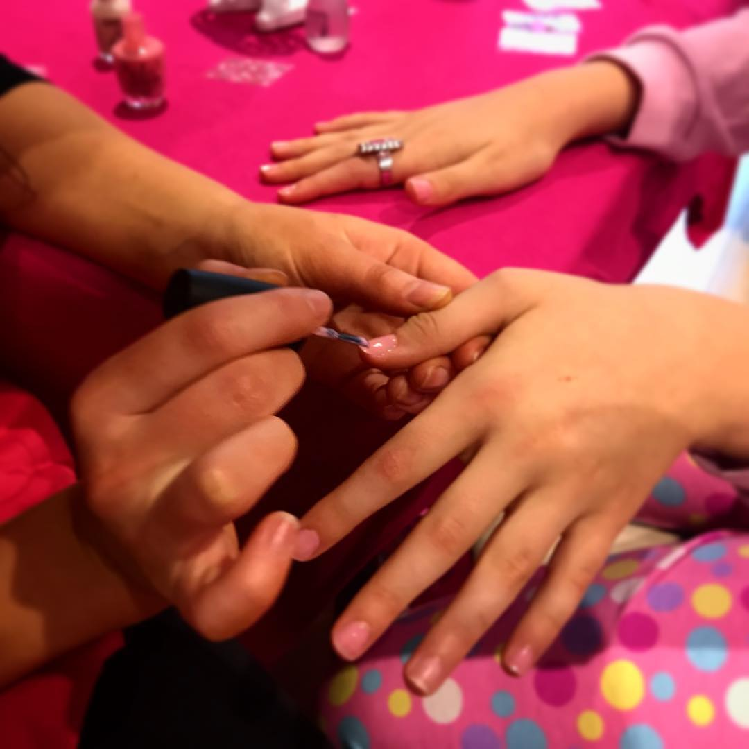 Mini Manicures - Nail Polish application from a choice of OPI or Piggy Paint (non-toxic, water based) with glitter lotion hand massages. Add nail stickers or nail designs as an add on!