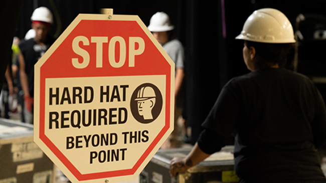 Safety - Upstage Center is committed to creating and maintaining a safe and productive work environment. We make every effort to provide workers with safety education.