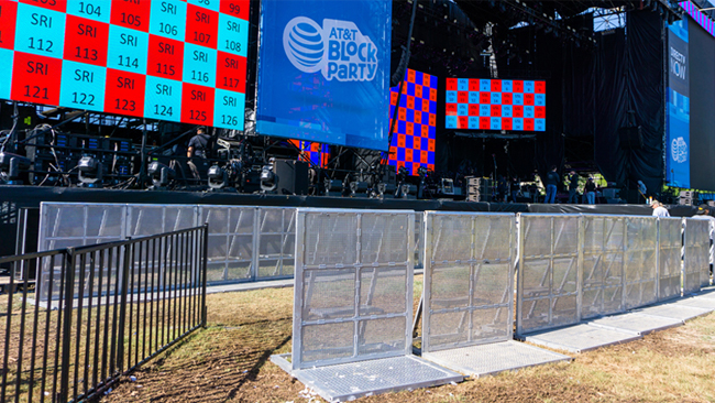 Barricades - Strong and sturdy, simple to set up, and able to fend off the rowdiest of crowds.