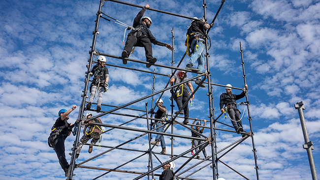 Scaffolding Climbers - With over 30 years of experience, no one knows scaffolding better.