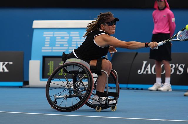 Ambassador #2: Danni Di Toro, co-captain of the #Rio Para-Team and 6 time #paralympian, Danni has also won the #AusOpen10 times and #USopen twice. Danni epitomises our focus on building diversity & inclusion through sport: the belief and passion that everyone should have the option and access to be involved in sport, no matter their physical or mental abilities.