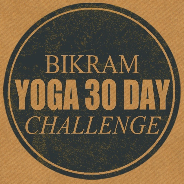 30 Day Bikram Yoga Challenge