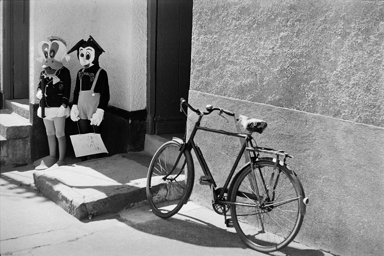 Fancy dress - Disney characters, Winkleigh, July 1972