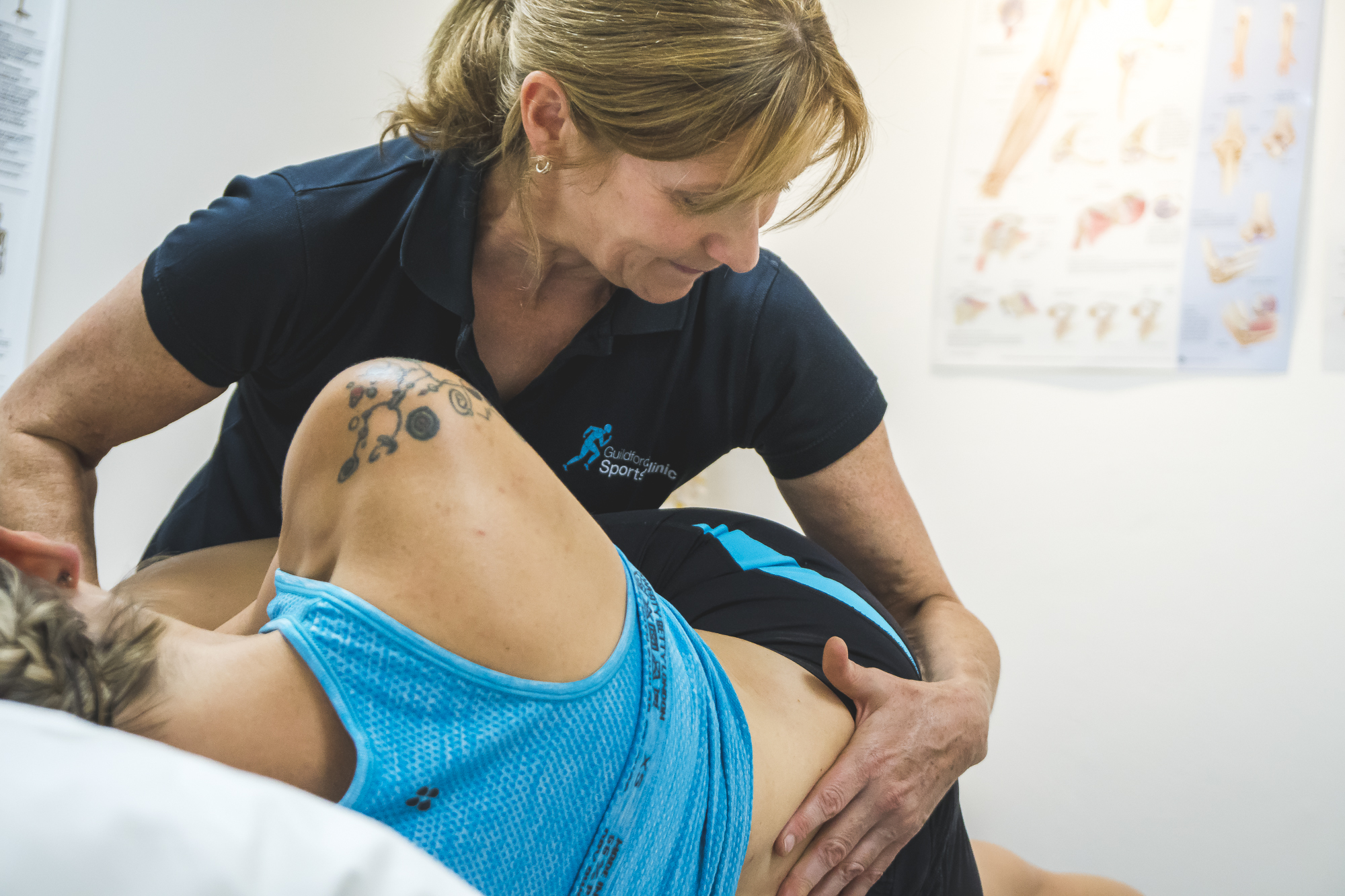 Physical manipulation is key to developing movement and stimulating blood flow to encourage the healing process.