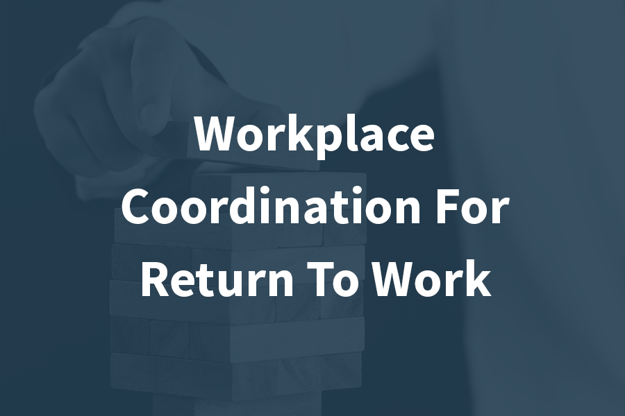 - This module starts you on a journey to becoming an effective and respected Return to Work Coordinator. Professionals with the knowledge, technical skills and transferable skills taught in this course will go on to be sought after resources in specifically helping workers with disabilities to stay in or return to work post injury or illness.