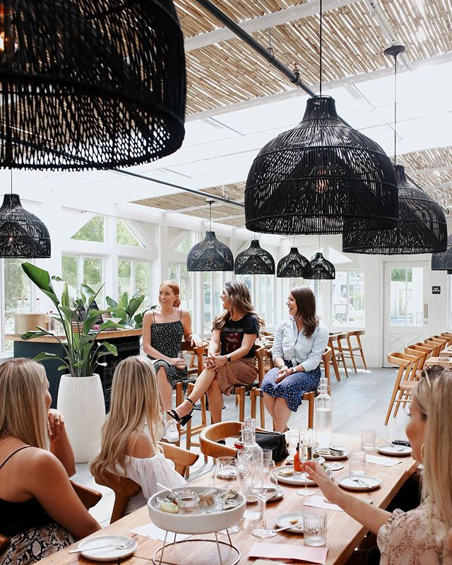 Love a good Ladies Who Lunch 💫 So much fun hearing from members @lizwebber_ + @knight.andreamary at the incredible @lapeeratl. Head to our story to see more from today's event and let us know where we should do our next LWL👇 #atlgirlgang #ggladieswholunch