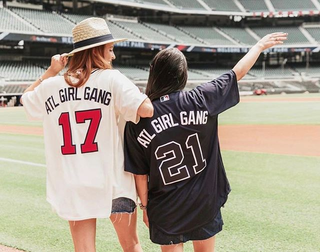 Here's hoping we get to post this photo over and over during postseason ⚾️ GO BRAVES! Who else will be watching our @braves mid workday tomorrow? #atlgirlgang  . . . . #atlgirlgang #atlgirlboss #girlgang #girlboss #atlanta #pursuepretty #discoveratl #discoveratlanta #weloveatl #whyiloveatl #collaborationovercompetition  #atlevents #eventsatl