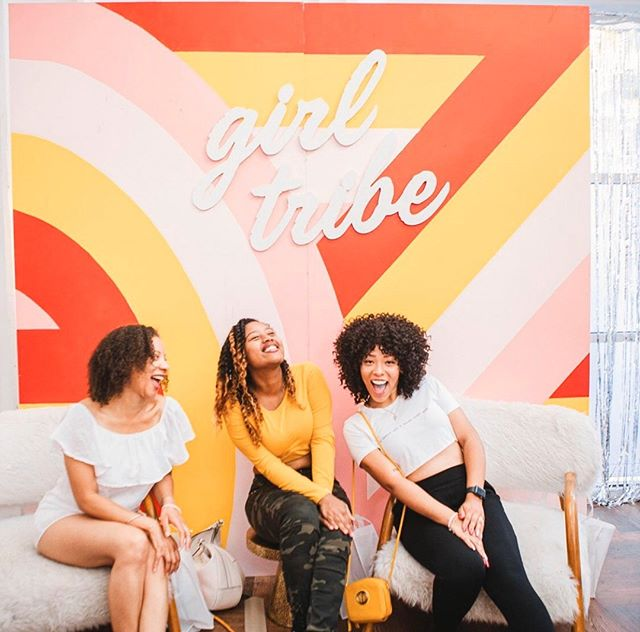 Hey girl, have you heard?! @girltribeco is popping up in JAX for the first time this Saturday! Expect a day full of shopping, photo ops, sips, and girl power 💫 See you there! #jaxgirlgang #girltribepopup