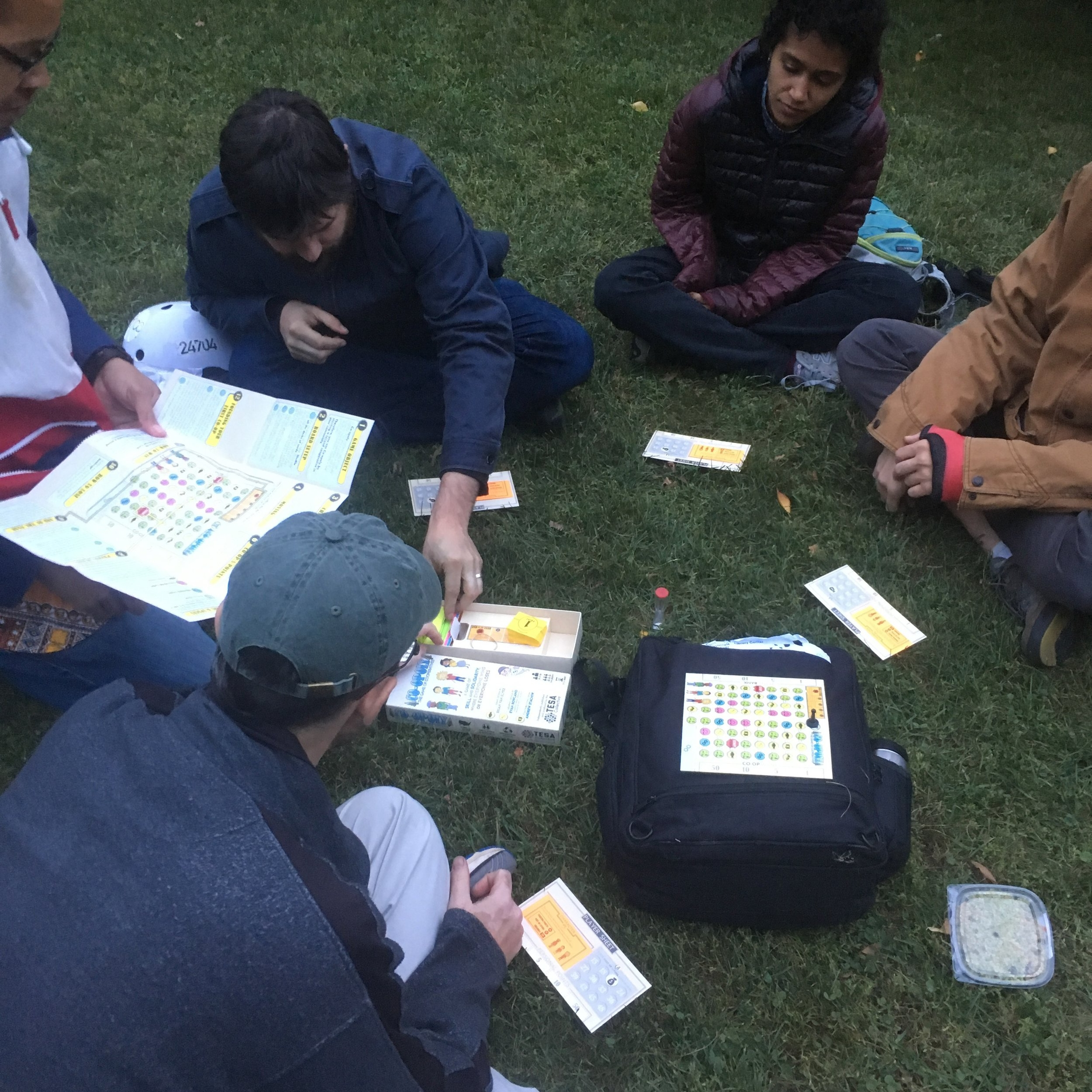 Co-opoly, the game of cooperatives! -