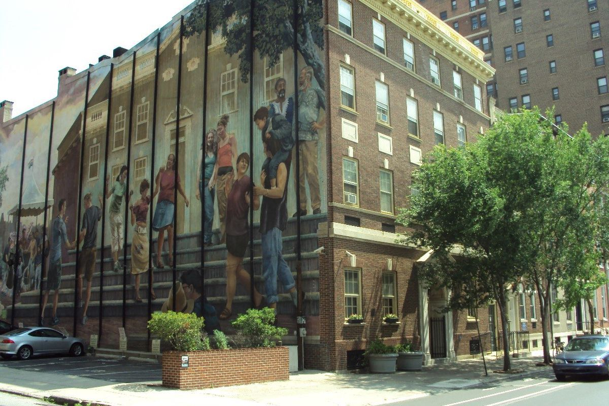 The William Way LGBT Community Center, Philadelphia.