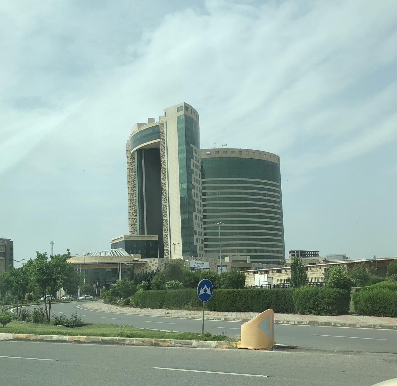 The World Trade Centre building in Erbil