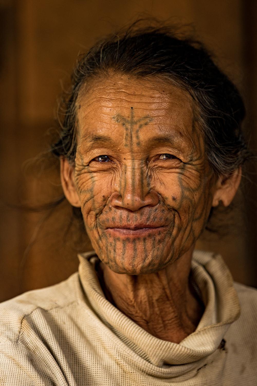 Chin woman - Chin state