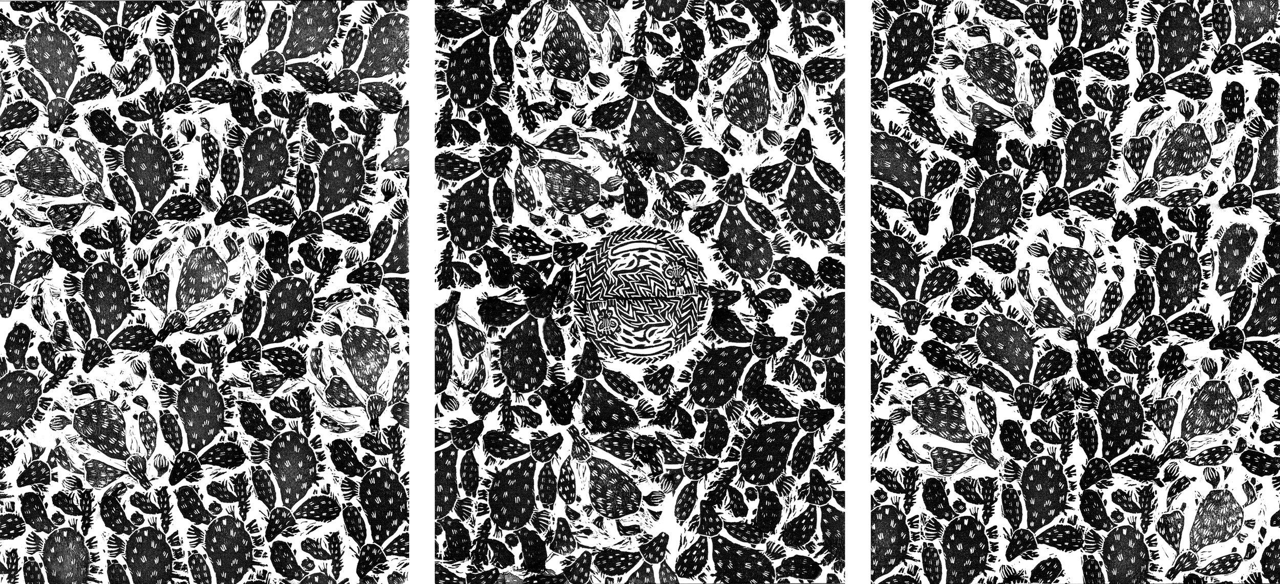 El Nopal  Rubber stamp