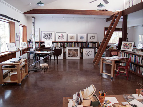 Bldg. 3 — Paula's Painting Studio