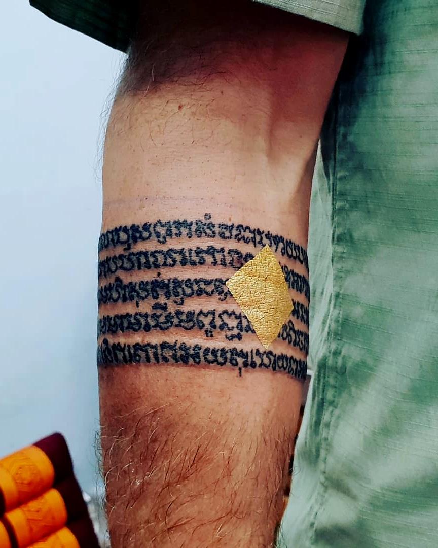 Sak Yant Thai Tattoo