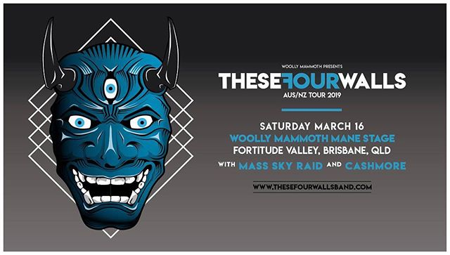 We're very excited to announce that we'll be supporting @thesefourwallsband on the Brisbane leg of their upcoming AUS/NZ tour!  We'll be supporting with @mass.sky.raid !  #thesefourwalls #massskyraid #cashmore #brisbane