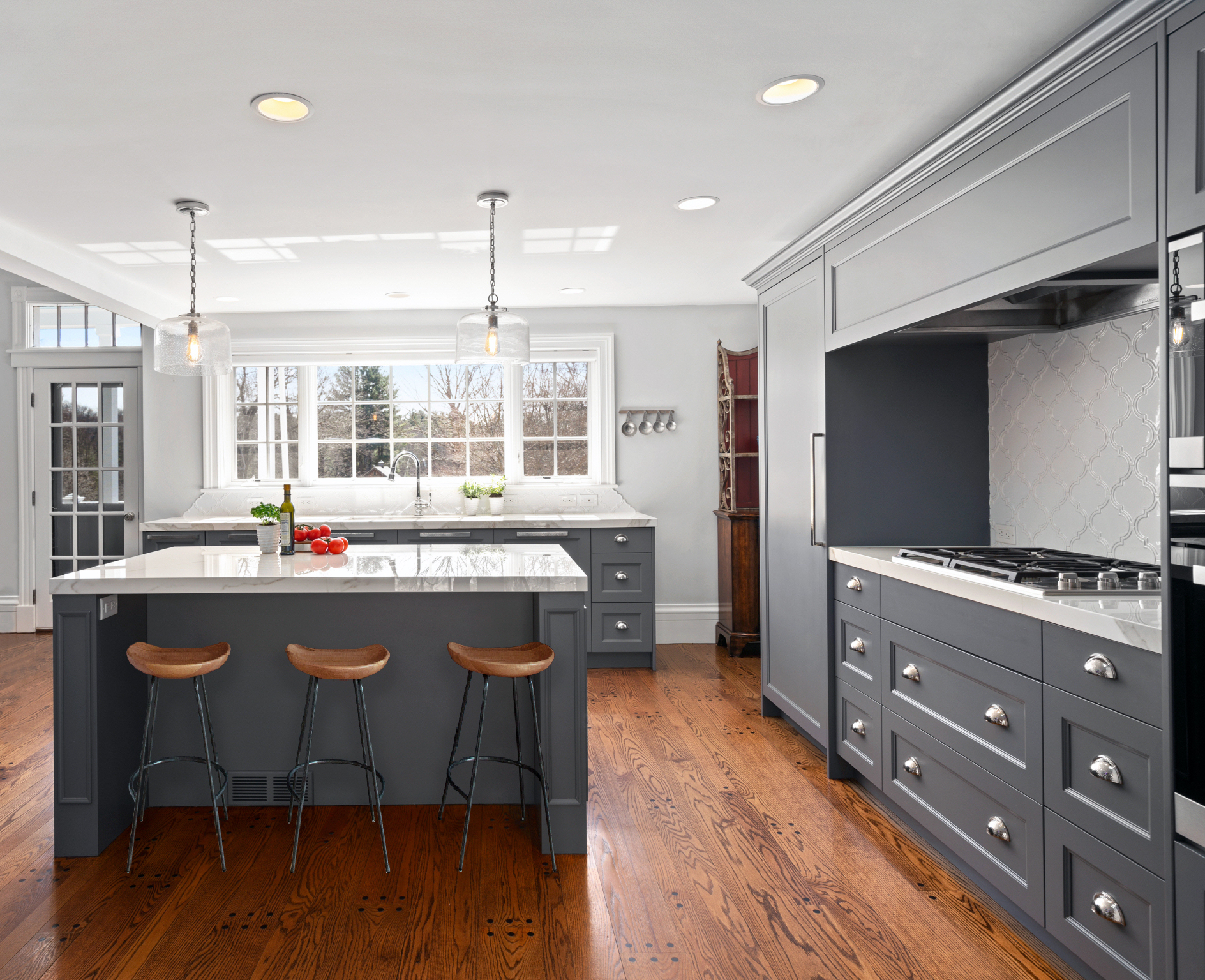 Modern Farmhouse Kitchen by Sacha Jacq Interiors