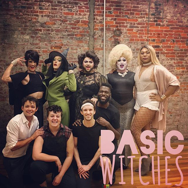 The cast of Basic Witches. Credit:  www.basicwitchesmusical.com
