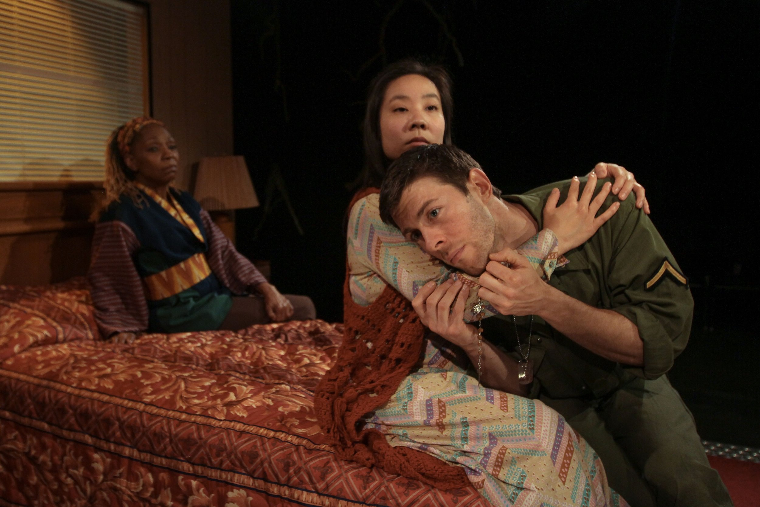 Cathy Simpson, Bi Jean Ngo and James Kern - Among The Dead - Photo: Paola Nogueras
