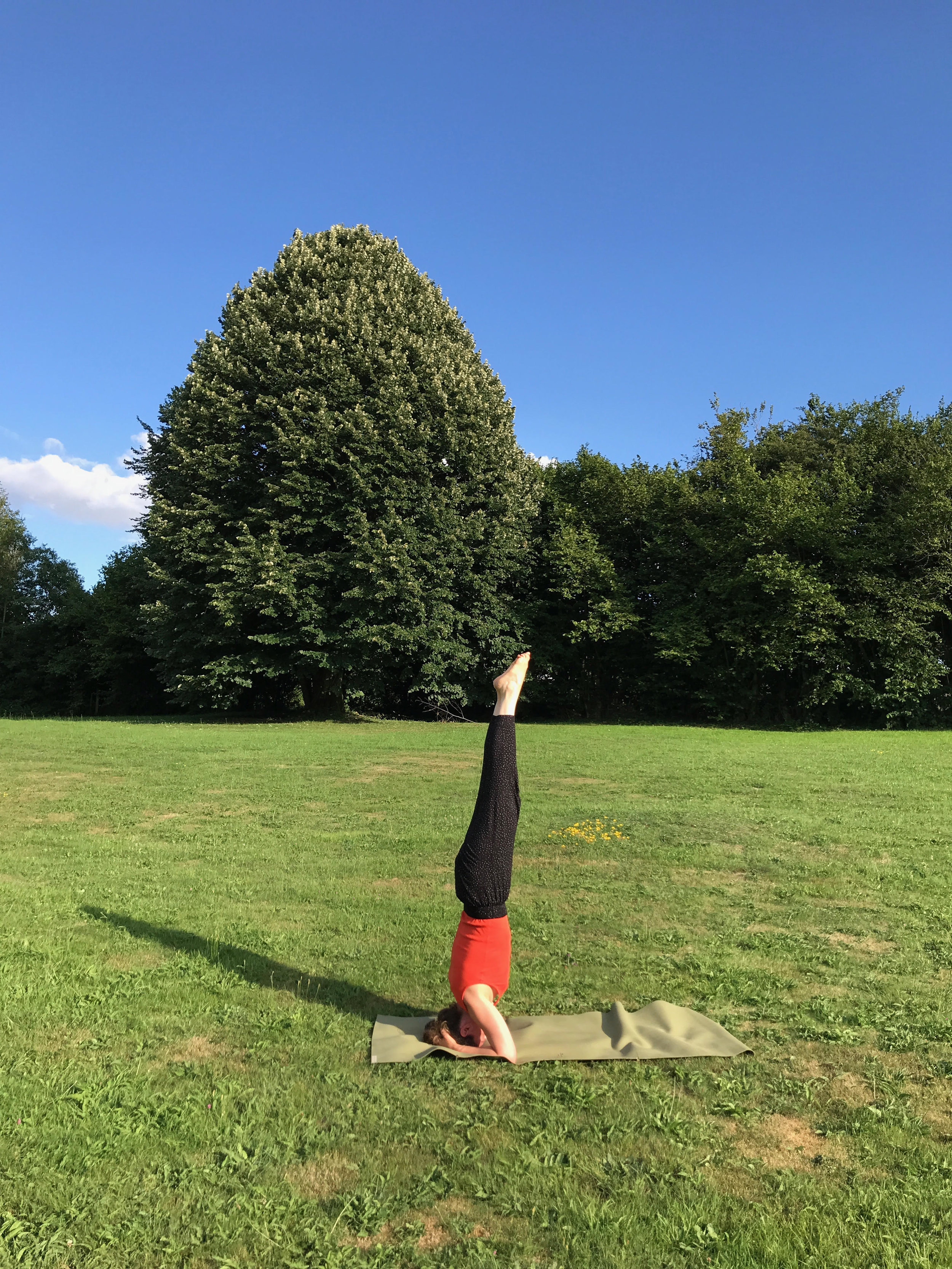 Doing a Headstand - Going upside down to get a better perspective