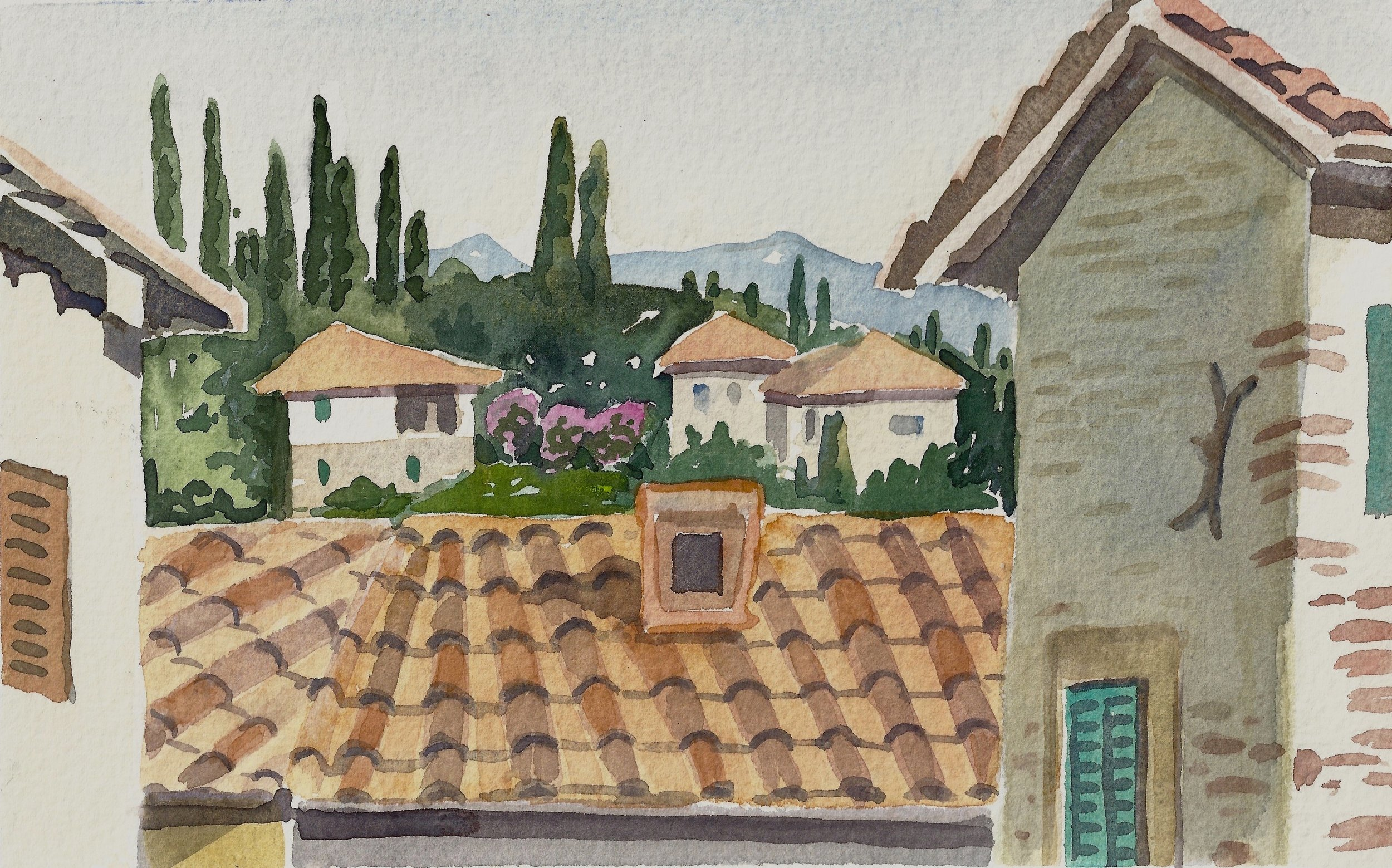 View from Anghiari, 2018