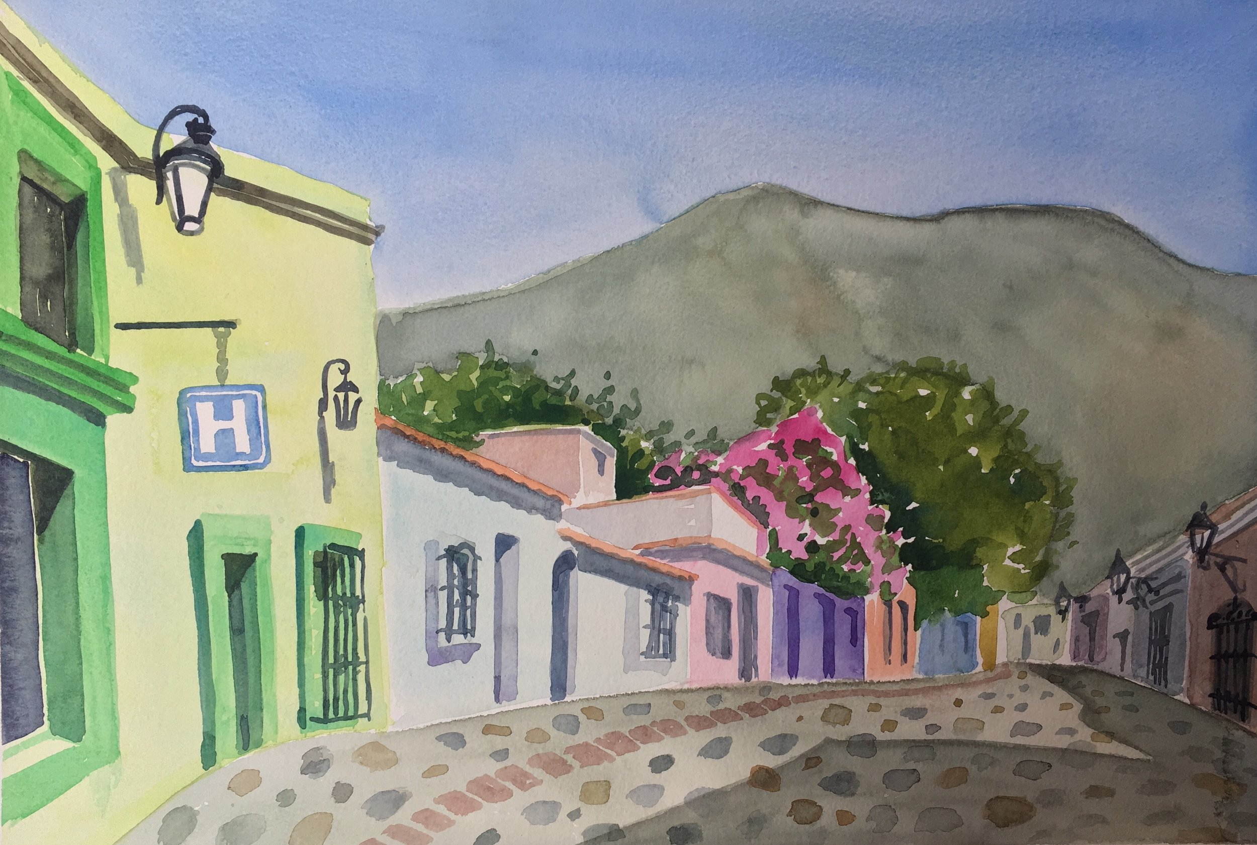 Oaxacan Buildings, 2019