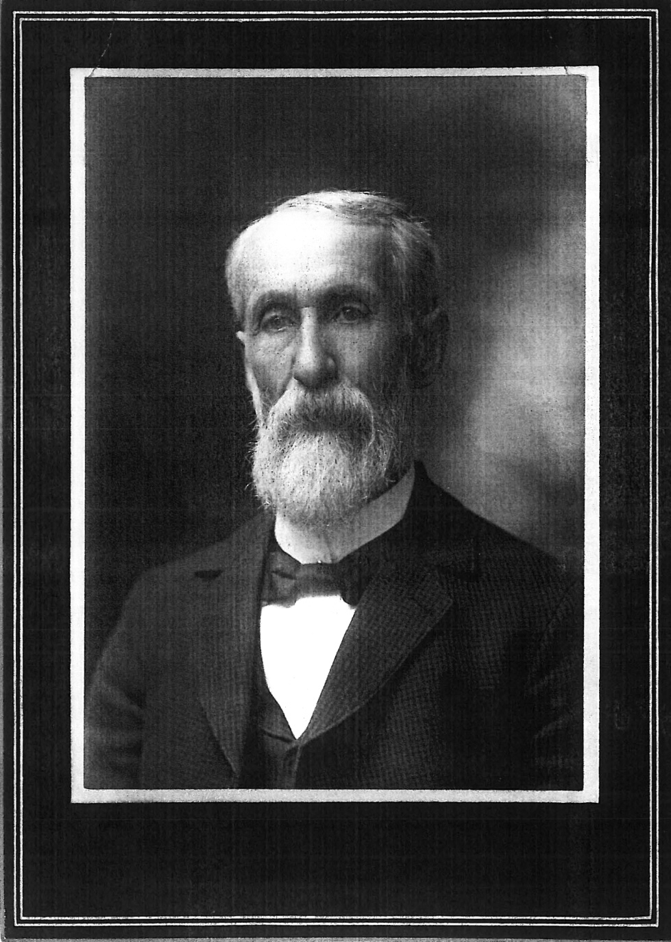 1883-1911 - John S. Roome, M.D. built the home for his second wife, Blanche Cora Bigelow (the best name ever!). John was the surgeon for the local town and railway. Calmar was a major railroad hub at the time of the Milwaukee Road between Marquette and Mason City. The Roomes had a daughter Kathie Blanche and a son John Sydney. John served for two terms as Mayor of Calmar, and for fifteen years as a member of the City Council.  He practiced medicine for over fifty years and was regarded as one of the State's medical authorities. He retired to Los Angeles, California in 1911. John didn't look terribly happy in his portrait but he had a fabulous beard.