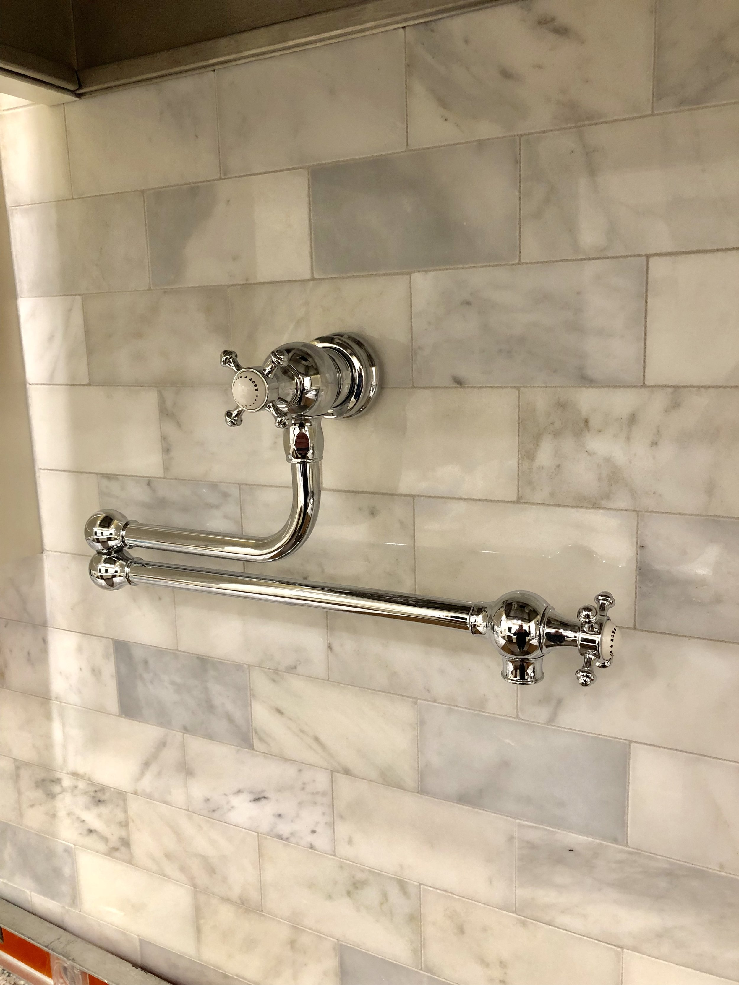 ROHL Perrin & Rowe's magnificent pot filler!