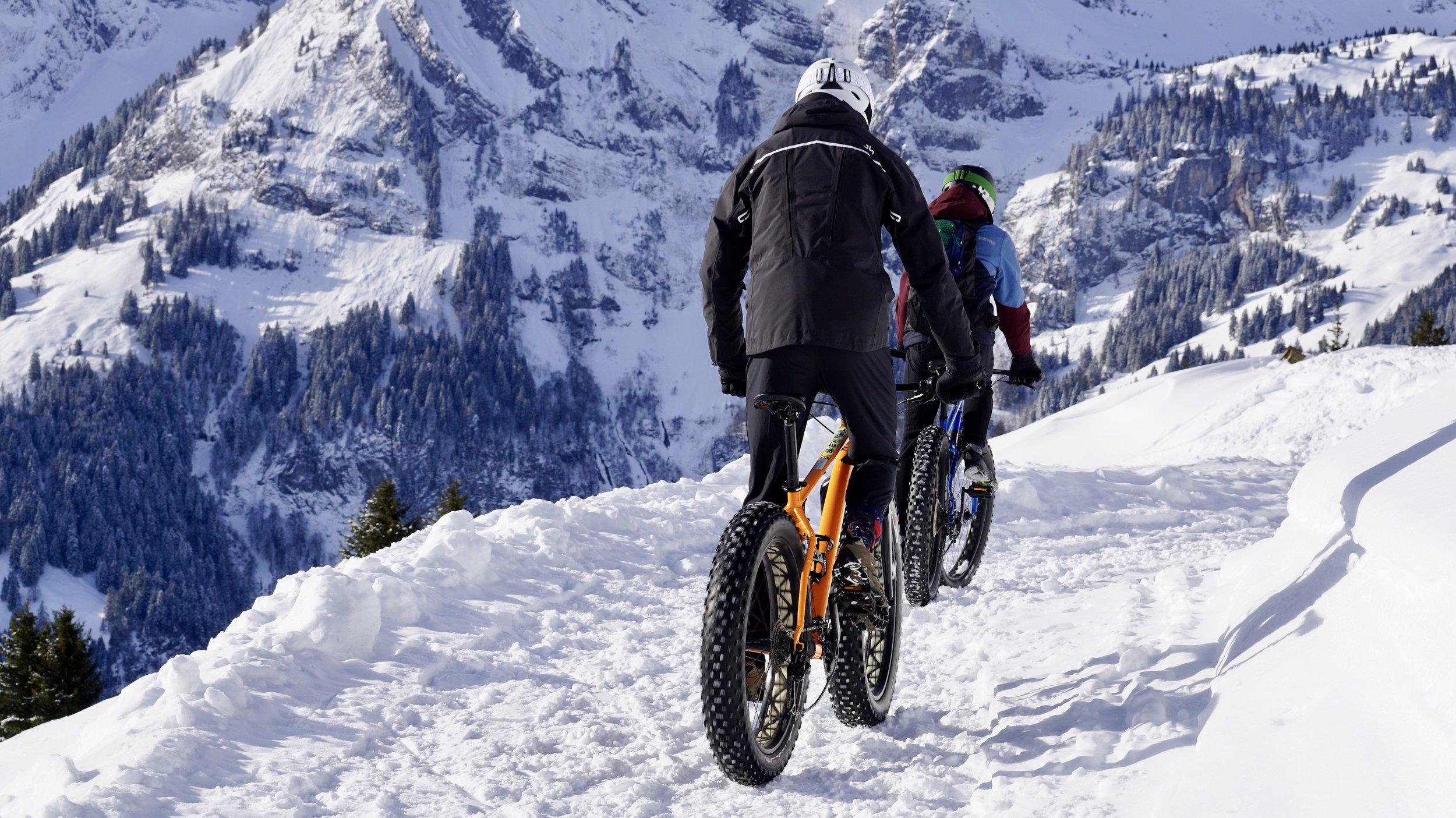 Fatbike & Segway - Schneeerlebnis mal ganz anders. Erschließen Sie mit dem Fatbike offroad neue Strecken oder genießen Sie die Tour auf dem Segway.