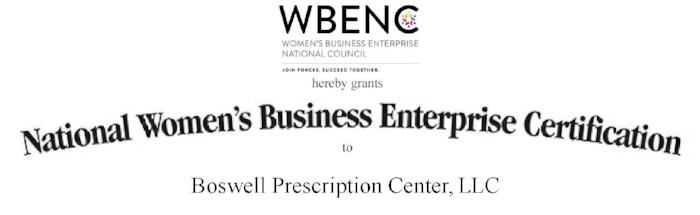 Boswell Prescription Center -  WBENC Certificate exp 10-3-19 WBENC.jpg