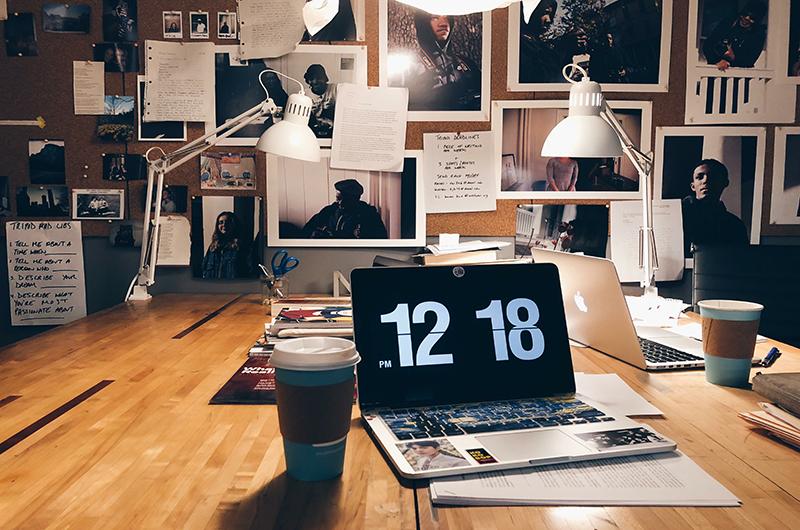 Writers Room studio, January 2018