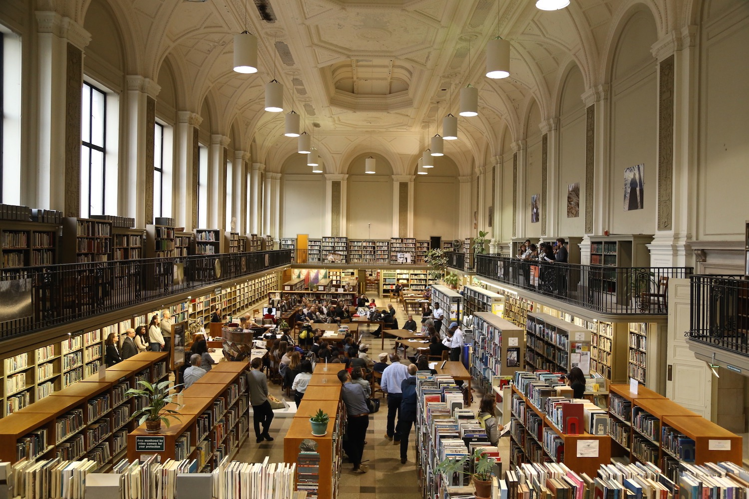 TRIPOD: Conversations with Place Reading + Exhibition Opening in the Art & Literature Department at the Free Library of Philadelphia, May 2019.