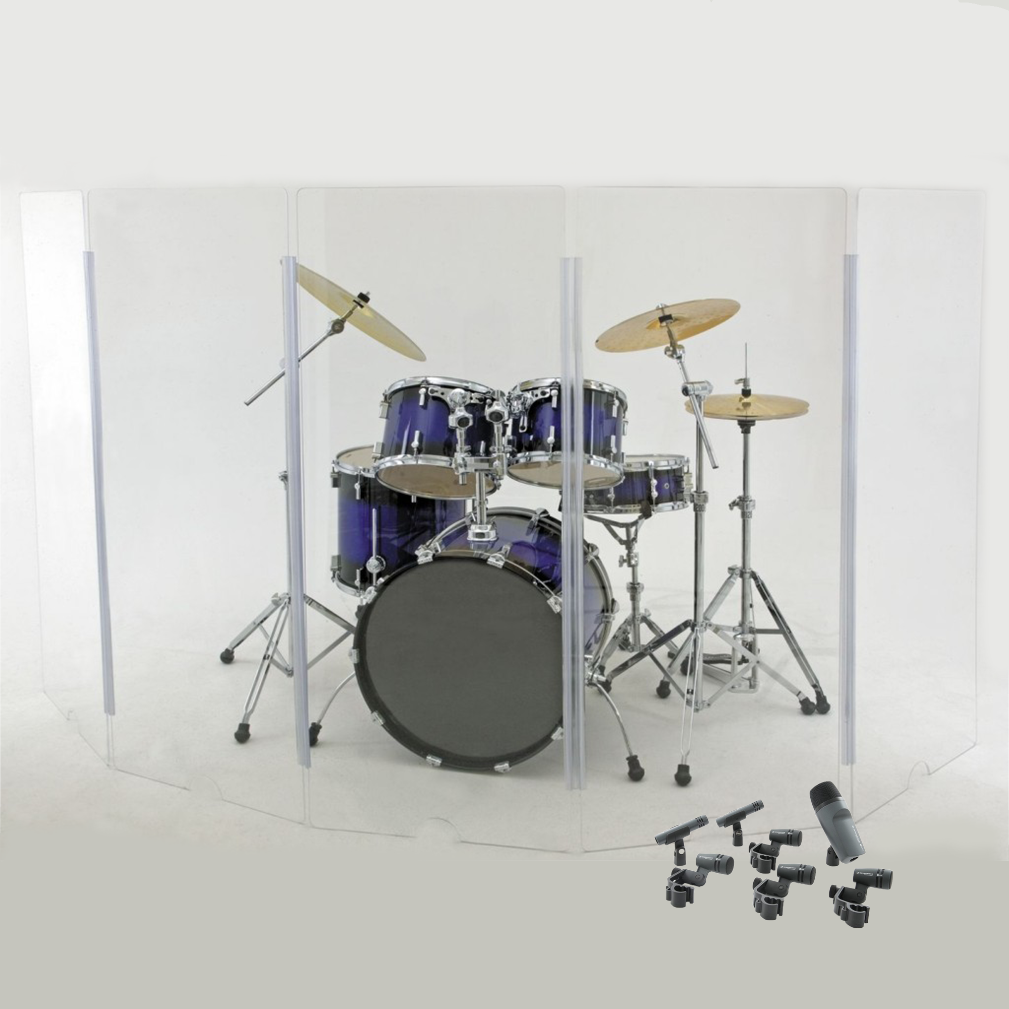 Drum Shield & Mic Kit