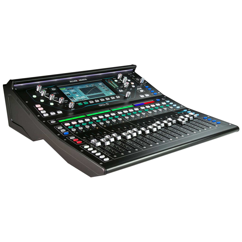 (1) Allen & Heath SQ-5 Console Digital Audio Console