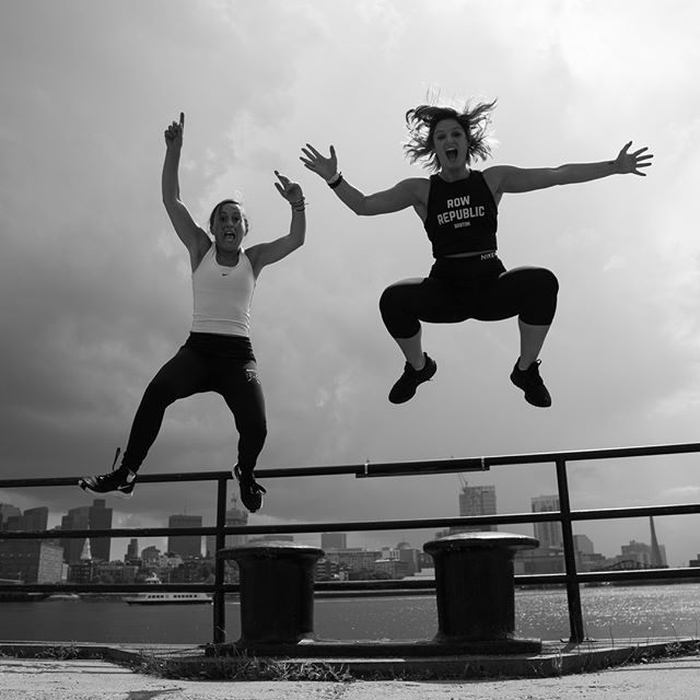 Some people hate Mondays. This is how we feel about them. #RRowBoston #Levitate