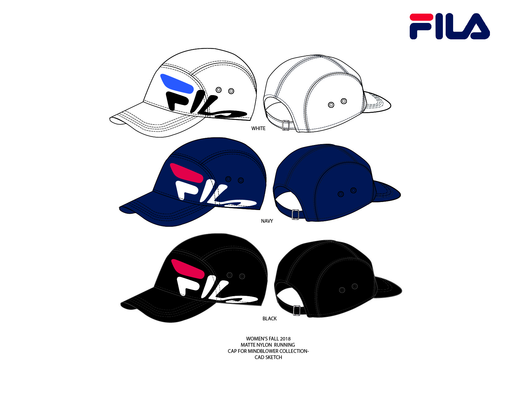 Mind Blower Cap Initial Designs for Fall 2018