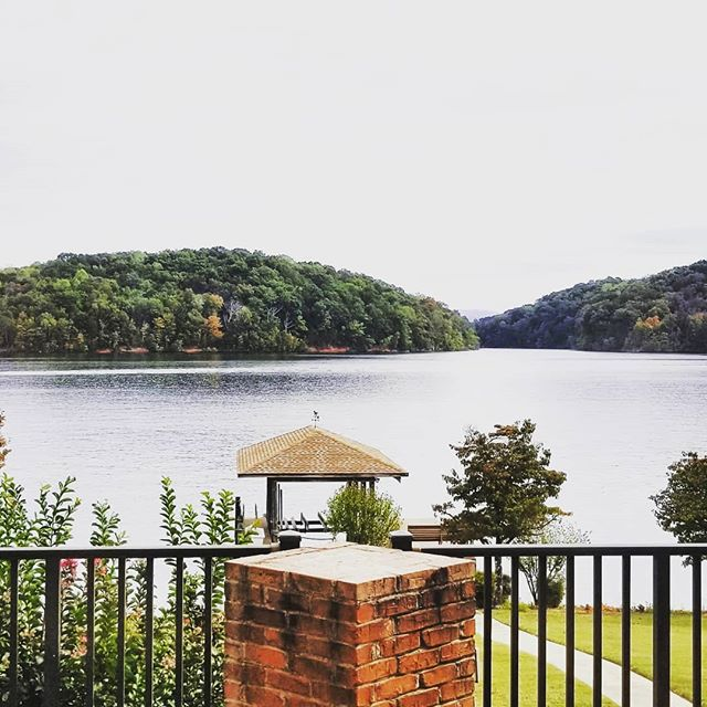 Confession: Every time I'm at this client's home in Tellico Village, I can't stop myself from taking a few pictures of their view. Just a few more months until the inside of their home is not only the perfect frame for the view, but also perfectly suited to their active lifestyle.
